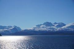 山在挪威 免版税图库摄影
