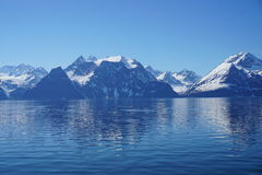 山在挪威 免版税库存图片