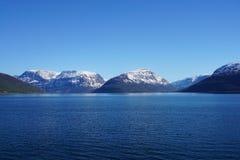 山在挪威 免版税库存照片