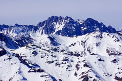 山在智利 库存照片