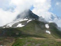 山在格林德瓦 免版税库存图片