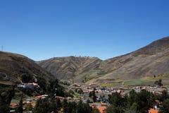 山在梅里达 图库摄影