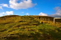 山在爱尔兰 免版税图库摄影