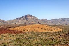 山在特内里费岛 库存照片