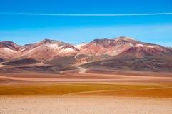 山在玻利维亚 免版税图库摄影