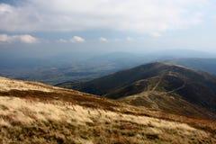 山在秋天 免版税库存照片
