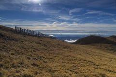 山在秋天 图库摄影