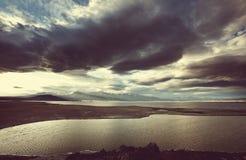 山在蒙古 库存照片