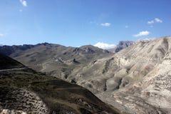 山在阿塞拜疆 库存照片