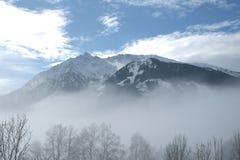 山在阿尔卑斯 图库摄影