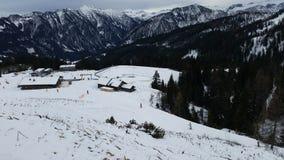 山在阿尔卑斯 库存图片