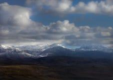 山在阿尔巴尼亚 库存照片