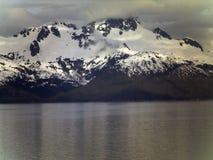 山在阿拉斯加 免版税库存图片