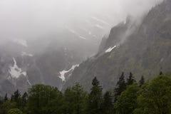 山在巴伐利亚 库存图片
