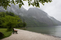 山在巴伐利亚 库存照片