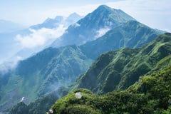 山在索契 库存照片