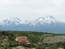 山在5月 库存照片