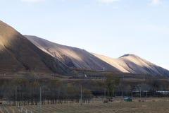 山在Chaina 免版税库存图片
