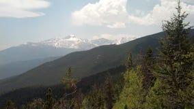 山在Estes公园, CO 库存图片