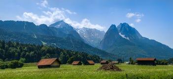 山在Gemrany 图库摄影