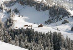 山场面,奥地利 免版税库存照片