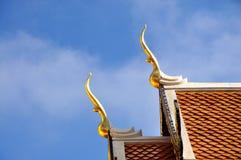 山墙尖顶屋顶 库存图片