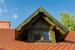 山墙屋顶窗 免版税库存图片