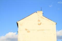 山墙房子 库存图片