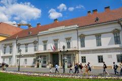 山多尔宫殿,布达佩斯,匈牙利 图库摄影