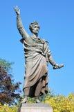山多尔裴多菲的纪念碑在布达佩斯,匈牙利 免版税库存图片