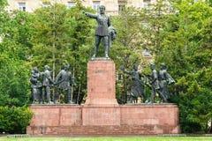 山多尔裴多菲纪念碑 图库摄影