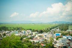 从山姆山的全景视图 免版税库存照片
