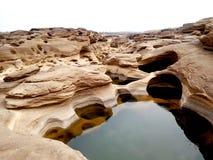 山姆帕纳Bok泰国的大峡谷 图库摄影