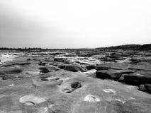 山姆帕纳Bok泰国的大峡谷 免版税库存图片