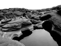 山姆帕纳Bok泰国的大峡谷 库存照片