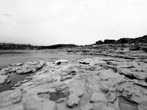 山姆帕纳Bok泰国的大峡谷 免版税图库摄影