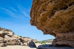 山姆帕纳Bok的岩石在泰国 库存照片