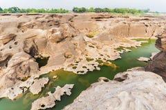 山姆帕纳Bok -泰国的大峡谷 图库摄影