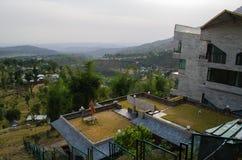 山家庭喜马偕尔邦印度 库存图片
