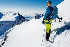 登山家 免版税图库摄影