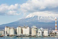 山富士和工厂 库存照片