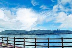 山富士和湖 库存照片