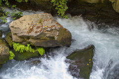 山小河在北以色列 免版税库存图片
