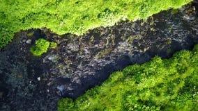 山小河从上面 影视素材