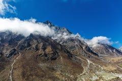 山尼泊尔 免版税库存照片