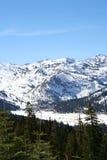 山山脉 库存图片