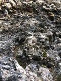 山岩石摘要 免版税库存照片