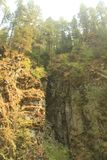 山峭壁 免版税库存图片