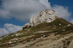 山峭壁 库存图片