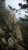 山峭壁 免版税库存照片